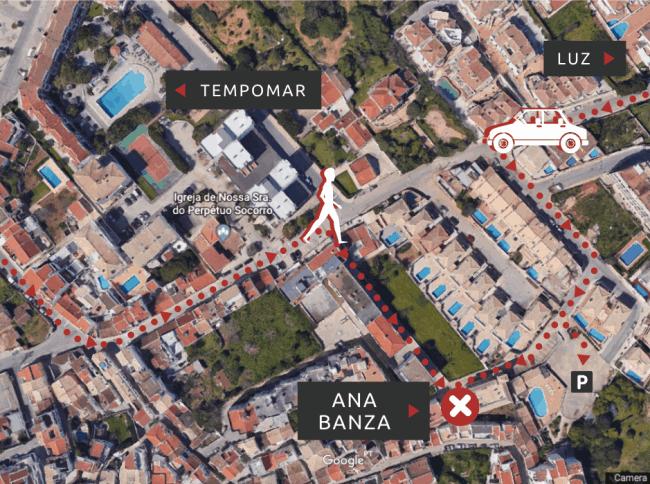 ANA BANZA LOCATION MAP