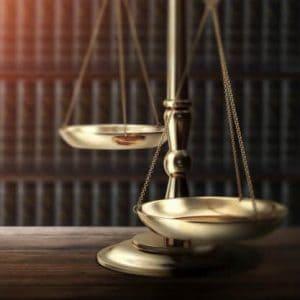 Ana Banza Scales of Justice & Law Books